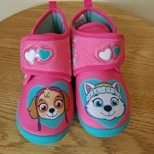 Paw Patrol Slippers boots for Girls size 11/12